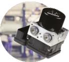 ECU, ABS y actuador de turbo
