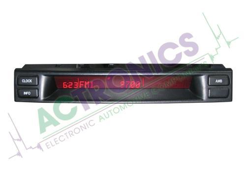 Mazda 6 2002-2007 (Clock & Radio)