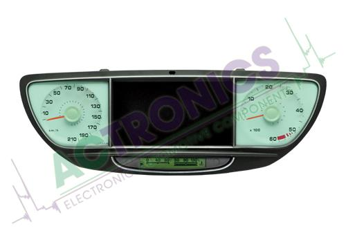Peugeot 807 2002-2014 (display in the middle)