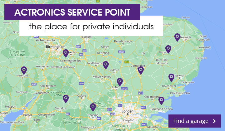 ACtronics Service Points