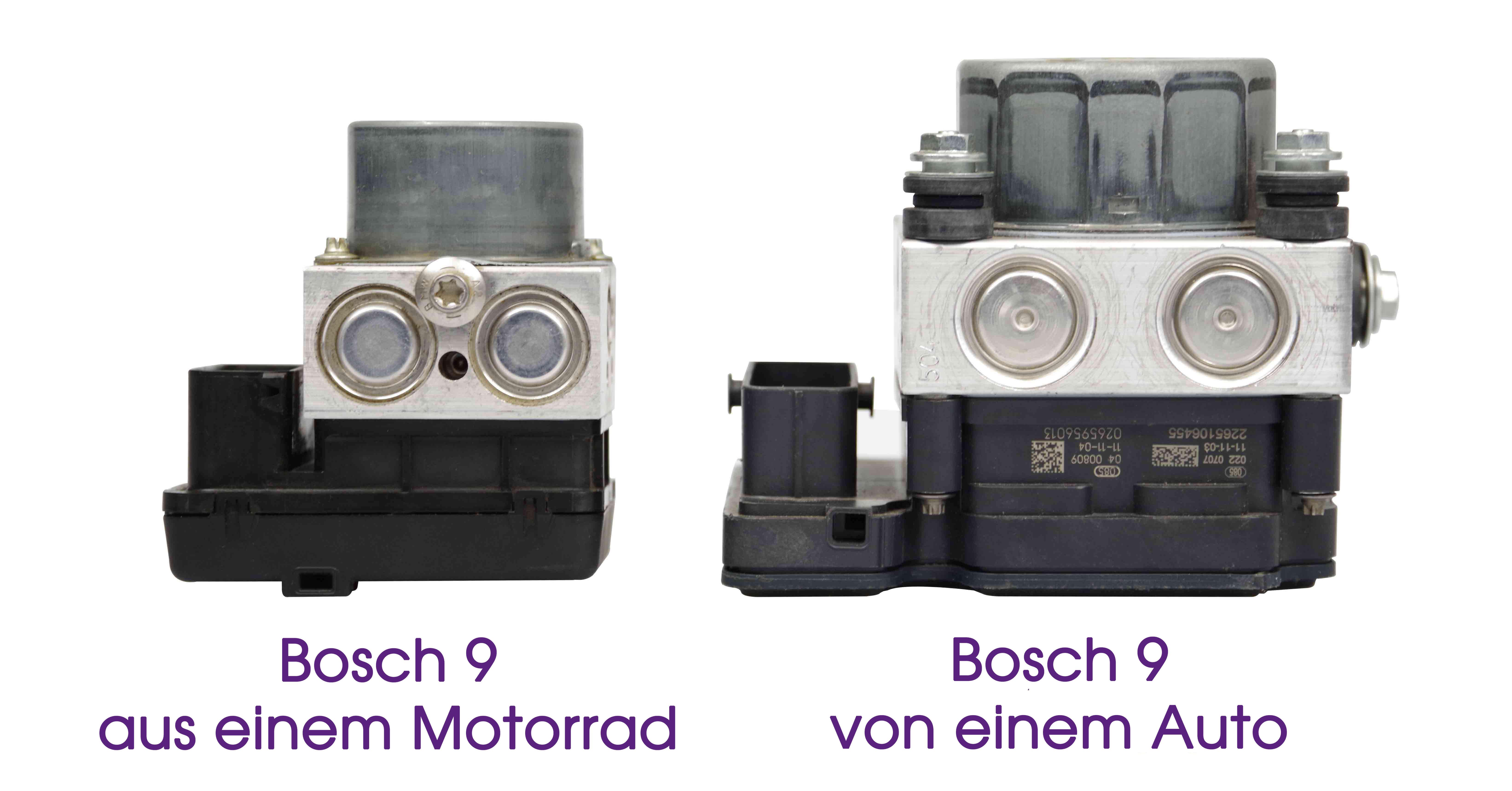 Bosch 8 ABS motorrads