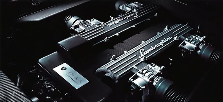 Lamborghini Moteur