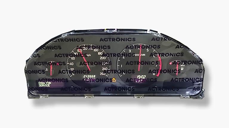 Quadro de instrumentos actronics