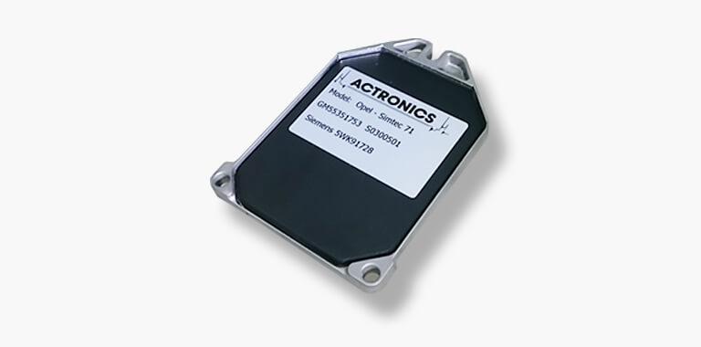 Siemens Simtec coperchio Actronics
