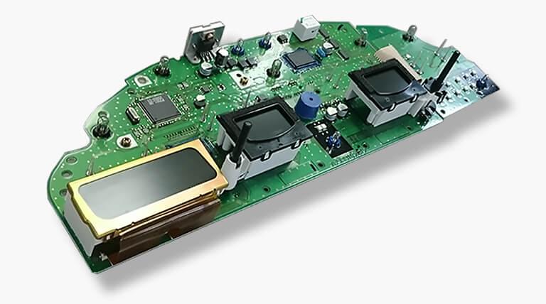 Volvo instrumentcluster PCB